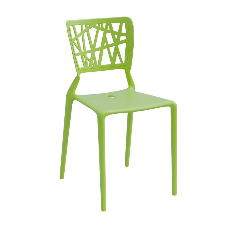 Limegrön stol