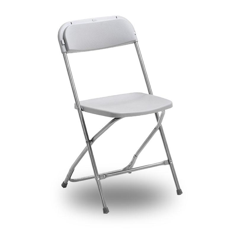 grå stol